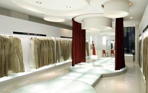 120平米大型欧式精致风格婚纱店装修效果图
