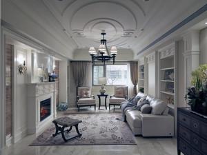 清新舞曲:100平公寓时尚家居装修设计图