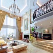 时尚的客厅窗帘设计