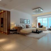60平米小户型欧式客厅装修效果图鉴赏