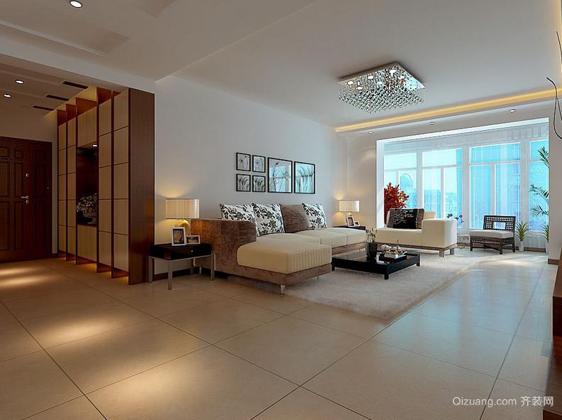 欧式客厅装修效果图小户型-2016欧美风格小别墅客厅设计效果图