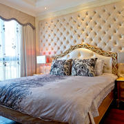 欧式简约风格公寓卧室装饰