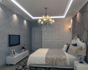 60平米小户型简欧唯美的卧室装修效果图实例