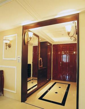 90平米大户型完美的欧式客鞋柜装修效果图