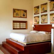 小户型卧室榻榻米装饰