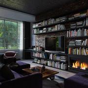 小户型书房书架