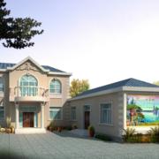 2016精致的农村一层房屋设计装修效果图