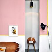 粉色简约客厅