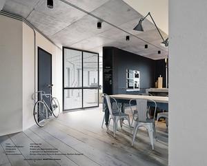 内敛空间:40平米小户型室内装修