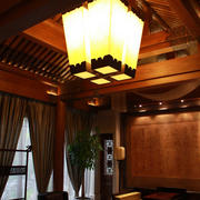 四合院大型客厅灯饰装饰