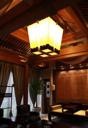 四合院别墅精致奢华风格客厅装修效果图