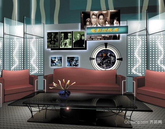 现代简约风格歌舞厅包厢装修效果图