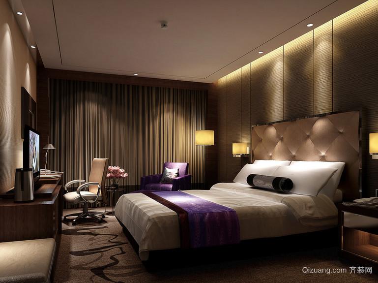 2016唯美都市现代宾馆室内装修效果图实例