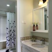 卫生间简约浴室柜装饰