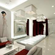 婚纱店简约沙发装饰