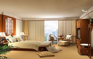 暖色调房间效果图片