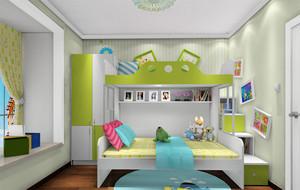 2016三居室宜家风格儿童房设计装修效果图