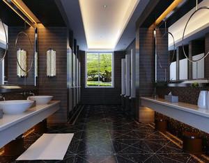 2016年大型公共场所洗手间装修效果图