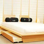 日式简约原木榻榻米装饰