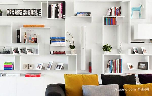 2016年各式各样简约开放式书房装修效果图
