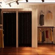 暖色系服装店装饰