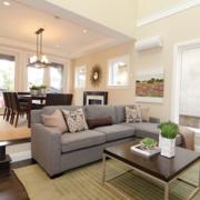 2016精致的大户型欧式室内客厅装修效果图大全
