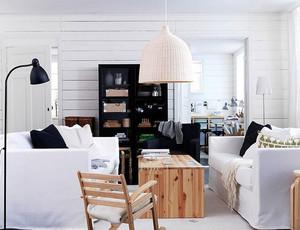 60平米小户型北欧简约风格客厅装修效果图