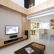 大户型120平米别墅客厅电视背景墙效果图集