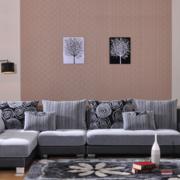 2016精美的大户型欧式沙发背景墙效果图鉴赏