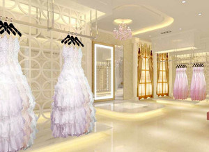 大型购物商城欧式奢华婚纱影楼装修效果图