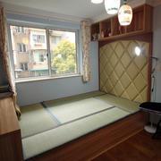 日式清新风格卧室榻榻米