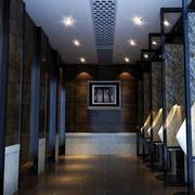 后现代风格深色系洗手间装饰