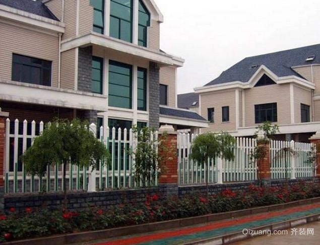 独栋洋楼别墅欧式简约风格护栏装修效果图