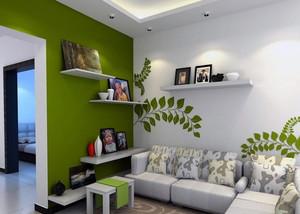 2016大户型简欧风格客厅电视背景墙装修效果图