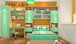 二居室清爽系列儿童房设计装修效果图