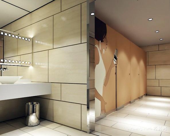 2016年 大型 公共场所 洗手间 装修效果图