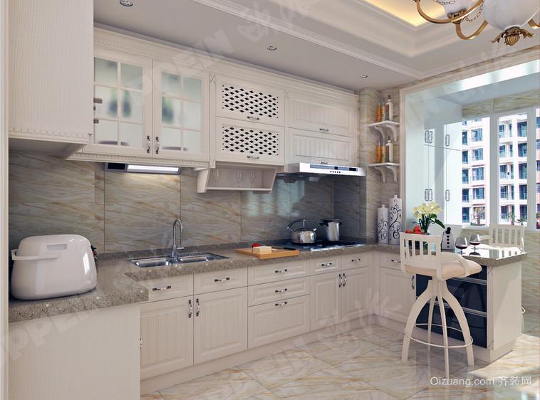 2016高贵的大户型欧式 厨房 橱柜 装修效果 图鉴赏高清图片