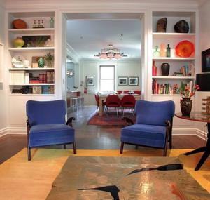 三居室唯美可爱客厅塑料储物柜效果图