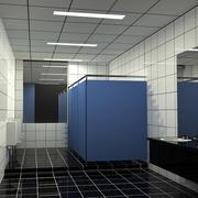 大型密集式洗手间吊顶装饰