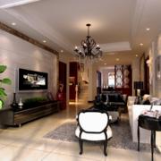 2016欧式唯美的复式楼客厅装修效果图鉴赏