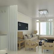 120平米都市风格客厅隔断造型效果图