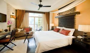 110平米都市风格卧室装修效果图