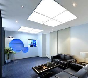现代简约风格CEO办公室吊顶装修效果图