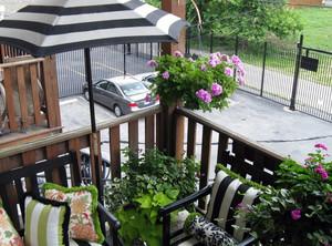 美式简约风格小别墅护栏装修效果图
