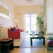 单身公寓简约风格沙发装饰