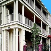 大型欧式简约风格楼房护栏设计图