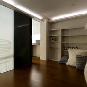 灰色调房间效果图片