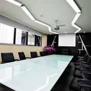 简约风格会议室创意吊顶装饰