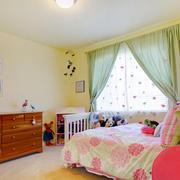 清新风格卧室效果图片