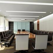 会议室简约灯饰装饰